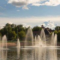 Фонтаны на реке Саранка :: Олег Манаенков