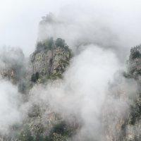 Туманное утро в горах :: Наталья Федорова