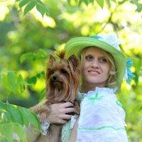 Дама с собачкой :: Андрей Вестмит