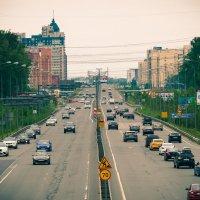 Питер въезд в город на проспект Косыгина :: Юрий Плеханов