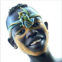 Любопытный мальчик из племени Мурси :: Евгений Печенин
