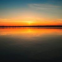 Закат на Северной Двине :: Татьяна Лапий