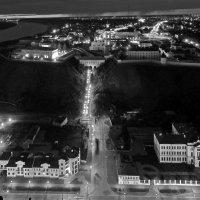 ночной Тобольск(дождь) :: Олег Петрушов