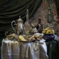 натюрморт с лимоном и физалисом :: Evgeny Kornienko