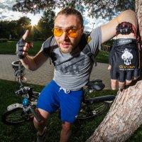 Sunset Cyclist :: Дмитрий Нигматулин