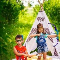 Маленькие индейцы :: Анастасия Костюкова