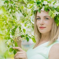 Яблоневый сад :: Алина Тимурова