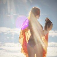 В лучах солнца. :: Lidija Abeltinja