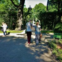 И в Летний Сад гулять ходили... :: Sergey Gordoff