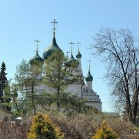 Весна в Ярославле, в губернаторском саду :: Николай Белавин