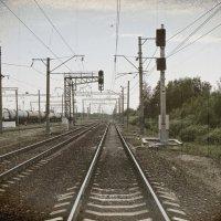 Километры, светофоры, вдаль зовущая дорога... :: Андрей Головкин