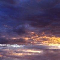 Панорама небо холодного июля :: Анатолий Клепешнёв