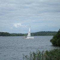 Прогулка на яхте :: Alena Cyargeenka