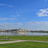 Кремль, набережная реки Казанки :: aleksandr Крылов