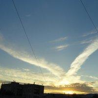 Закат Солнца в Перми :: Валерий Конев