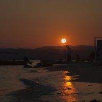Закат в Греции :: Darina Mozhelskaia