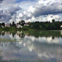 д. Озерки. Большое озеро :: Елена Павлова (Смолова)