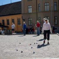 Петанк в Стокгольме :: Alena Cyargeenka