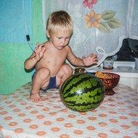 Сам съем весь арбуз! :: Ирина Антоновна