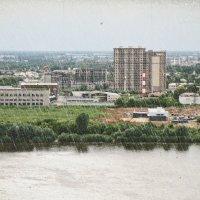 С высокого берега Оки.... :: Андрей Головкин