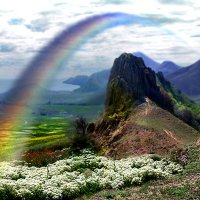 """""""...и по радуге промчатся на коне..."""" :: viton"""