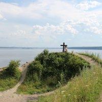 Слияние рек Чусовой и Камы :: Валерий Конев