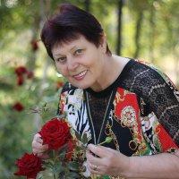 Портрет с розами :: TATYANA PODYMA