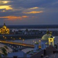 Ночной пейзаж :: Сергей Цветков