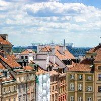 Старая и Новая Варшава. Вид из окна.. :: Tatsiana Latushko