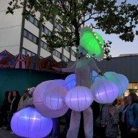 """Белый парад"" (Weiße Parade). Зелёный нимб :: Nina Yudicheva"