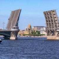 Благовещенский мост :: константин Меркулов