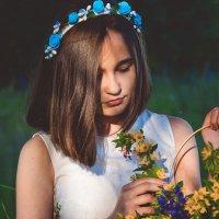 Цветочная леди :: Александра Юдаева
