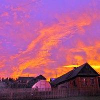 яркие краски заката :: леонид логинов