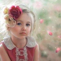 Rose petals :: Irina Safronova