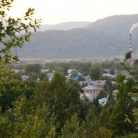 город на закате :: Alexandr Staroverov