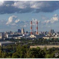 Вид на Москву с Воробьевых гора :: Irina-77 Владимировна