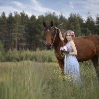 Фотопрогулка с лошадью. Фотограф Таня Турмалин. :: Таня Турмалин