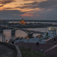 Стрелка на закате :: Сергей Цветков