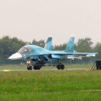 Су-34 перед взлётом :: Андрей Снегерёв