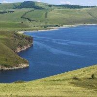 Красноярское водохранилище. Вид с горы Туран :: Юлия Маркелова