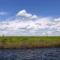 Малая речка. Облака. :: Elena Sartakova