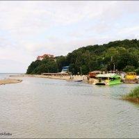 Река,впадающая в море :: °•●Елена●•° Аникина♀
