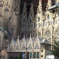 Барселона. Собор Святого Семейства (Саграда Фамилия).Фасад :: татьяна