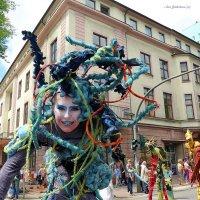 Гамбург. Международный фестиваль уличных искусств «Штамп». :: Nina Yudicheva