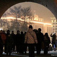 ночь,снег,мороз,ох :: Олег Лукьянов