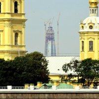 Подарок городу Газпрома 2 :: Сергей