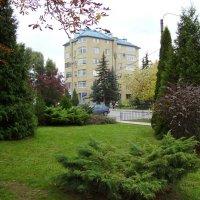 Вид   на   жилой   дом   в   Ивано - Франковске :: Андрей  Васильевич Коляскин