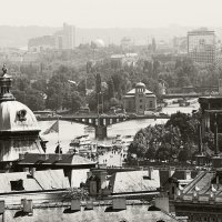 Вид на Прагу со смотровой площадки в Градчанах :: Константин Тимченко