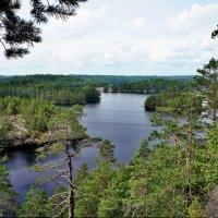 «Маленькая Лапландия» в Южной Финляндии. Озеро Реповеси :: Елена Павлова (Смолова)