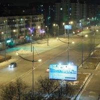Ночной проспект :: Вячеслав Ахрамович